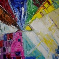 Eleveneleven, 60x60cm Acrylic on canvas, SEK 5000,00