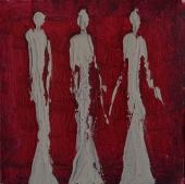 Awaiting, 15x15cm Acrylic on canvas, SEK 2500,00