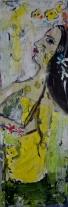 40x80cm, Acrylic on canvas, SEK 7000,00