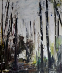 End of forrest, 60x80cm Oil on canvas, SEK 10 000,00