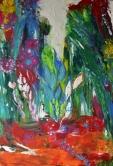 Oasis, 70x100cm Acrylic on canvas, SEK 15 000,00