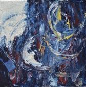 Resonance, 40x40cm Acrylic and sand on canvas, SEK 5000,00