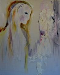 White shadow, 60x80cm Oil on canvas, SEK 9000,00
