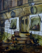 Another part of Venice, 80x100cm Oil on canvas, SEK 17 000,00