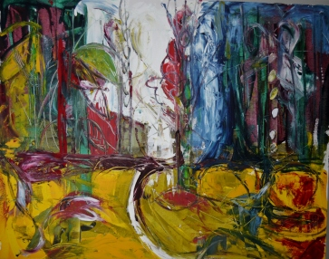 Yellow earth, 100x80cm Acrylic on canvas, SEK 15 000,00