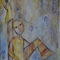 56x76cm Watercolor on paper, SEK 5000,00