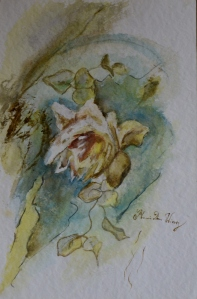 40x30cm Watercolor on paper in A3 cardboard passepartout, SEK 5000,00