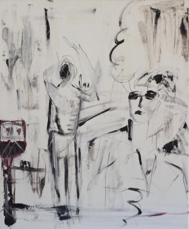 black and white acrylic painting.JPG