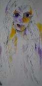 Omma, 40x100cm, Acrylic on canvas SEK 10 000